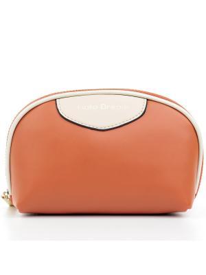 Косметичка Fiato Dream. Цвет: бежевый, оранжевый
