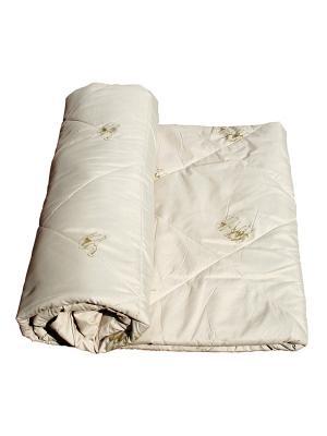 Одеяло Верблюжья шерсть La Pastel. Цвет: бежевый