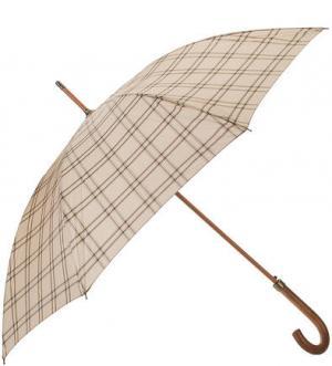 Зонт-трость с куполом в клетку Zest. Цвет: клетка