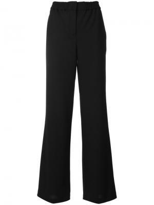 Flared leg trousers Ps By Paul Smith. Цвет: чёрный