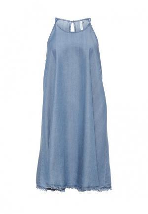 Платье пляжное Seafolly Australia. Цвет: синий