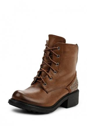 Ботинки Gioiosita. Цвет: коричневый
