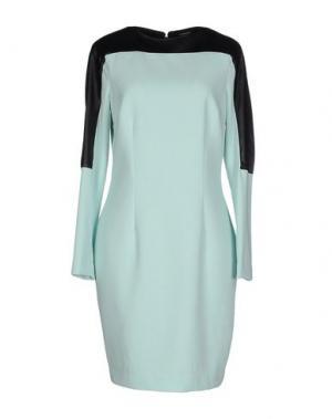 Короткое платье GAETANO NAVARRA. Цвет: светло-зеленый