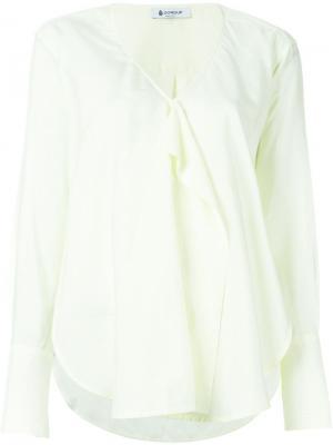 Блузка с оборками Dondup. Цвет: жёлтый и оранжевый
