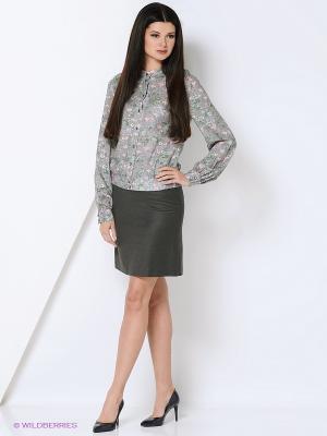 Блузки Elena Shipilova. Цвет: серый