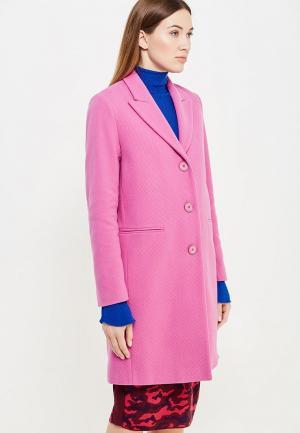 Пальто Pinko. Цвет: фуксия