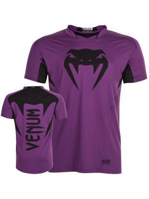Футболка Venum Hurricane X-Fit Purple/Black. Цвет: фиолетовый, черный