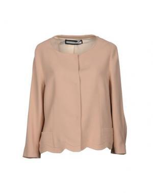 Пиджак AQUILANO-RIMONDI. Цвет: телесный
