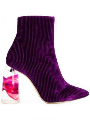 Ботильоны Tempo Ellery. Цвет: розовый и фиолетовый