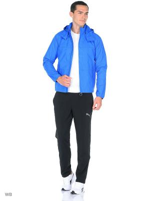 Куртка дождевик Veloce Rain Jacket Puma. Цвет: синий