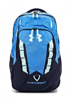 Рюкзак Under Armour. Цвет: голубой