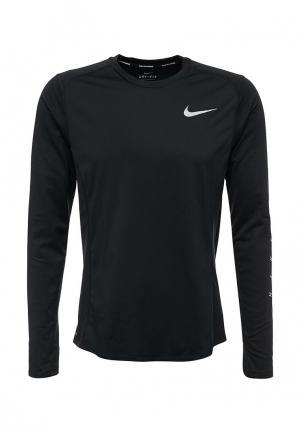 Лонгслив спортивный Nike. Цвет: синий