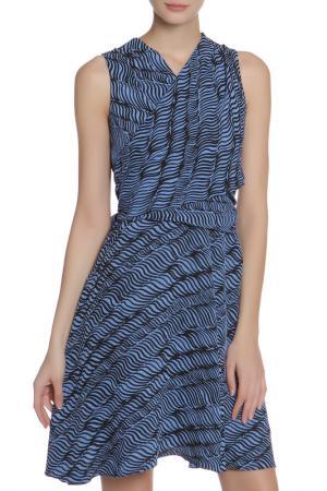 Платье Kenzo. Цвет: синий, черный