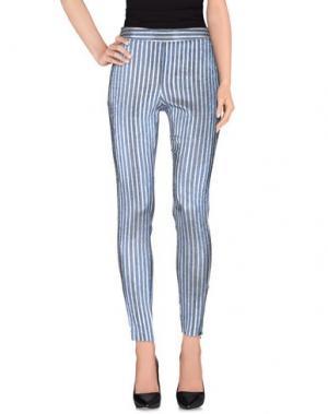 Повседневные брюки GIAMBA. Цвет: синий