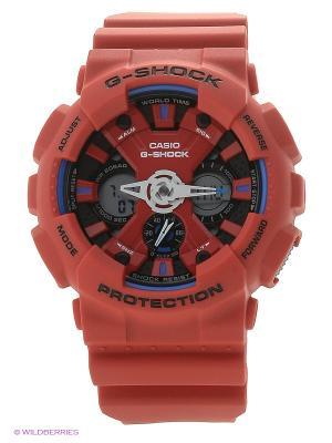 Часы G-Shock GA-120TR-4A CASIO. Цвет: красный