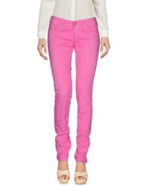 Повседневные брюки STAFF JEANS & CO.. Цвет: фуксия
