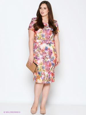 Платье Полина. Цвет: коралловый