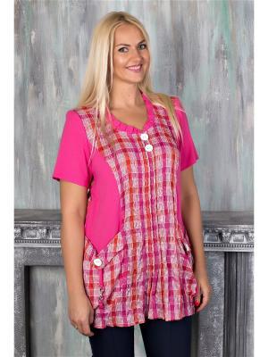 Блузка AVILA. Цвет: розовый