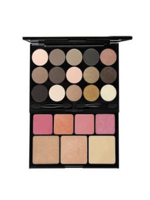 Набор для макияжа BUTT NAKED - TURN THE OTHER CHEEK 132 NYX PROFESSIONAL MAKEUP. Цвет: коричневый, бежевый, белый