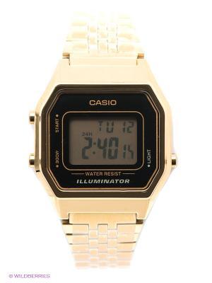 Часы Casio LA680WEGA-1E. Цвет: золотистый
