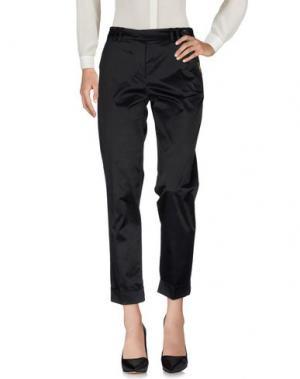 Повседневные брюки X'S MILANO. Цвет: черный
