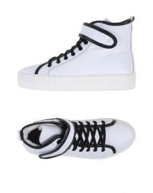 Высокие кеды и кроссовки PROJECT ONE. Цвет: белый