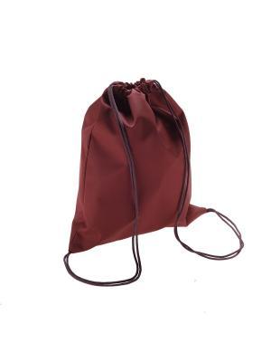 Мешок для обуви Ruby. Цвет: бордовый