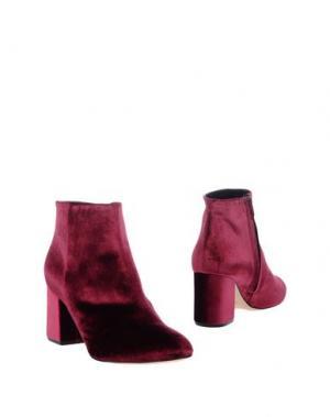 Полусапоги и высокие ботинки ANNA F.. Цвет: пурпурный