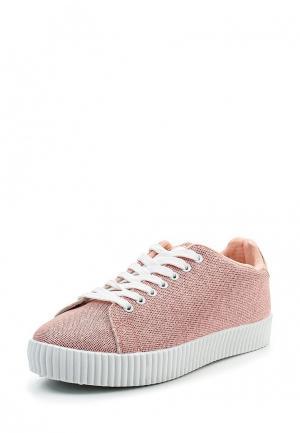 Кеды Ideal Shoes. Цвет: коралловый