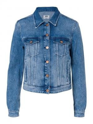 Куртка Cross Jeans. Цвет: синий
