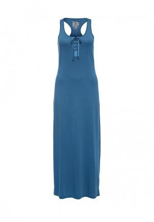 Платье Rifle. Цвет: синий