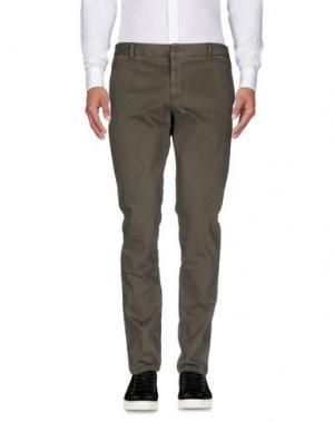 Повседневные брюки HERMAN & SONS. Цвет: свинцово-серый