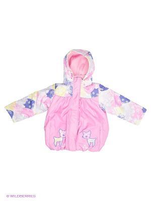 Куртка Baby Club. Цвет: розовый