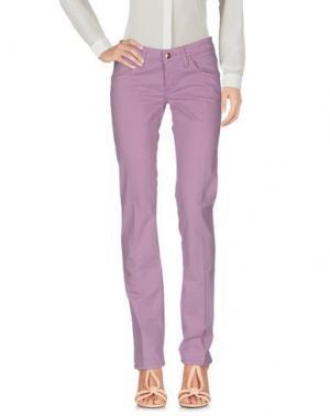 Повседневные брюки HEAVY PROJECT. Цвет: светло-фиолетовый
