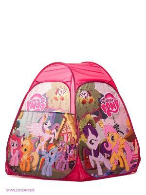 Игровая палатка My little pony Играем вместе. Цвет: малиновый