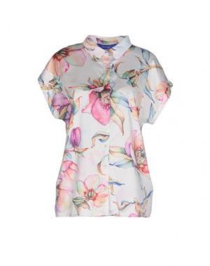 Pубашка ANONYME DESIGNERS. Цвет: белый