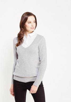 Пуловер Jennyfer. Цвет: серый