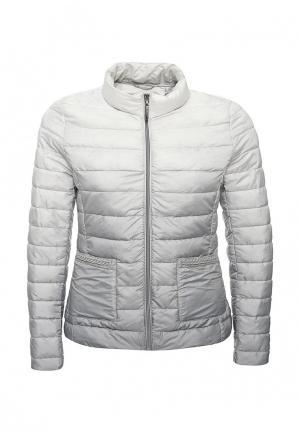 Куртка утепленная B.Style. Цвет: серый
