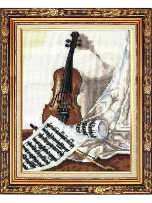 Набор для творчества Мелодия скрипки Сделай своими руками. Цвет: белый