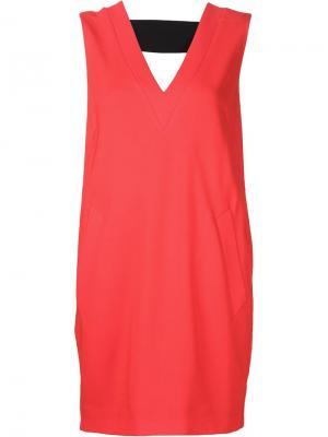 Платье Phoebe Rag & Bone. Цвет: красный