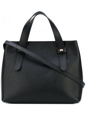 Маленькая сумка-тоут Borbonese. Цвет: чёрный