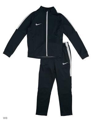 Спортивный костюм Y NK DRY ACDMY TRK SUIT K Nike. Цвет: зеленый