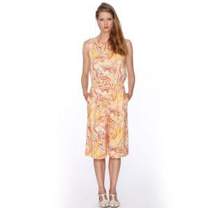 Бермуды с рисунком - , Trouser Muriel PEPALOVES. Цвет: оранжевый/рисунок