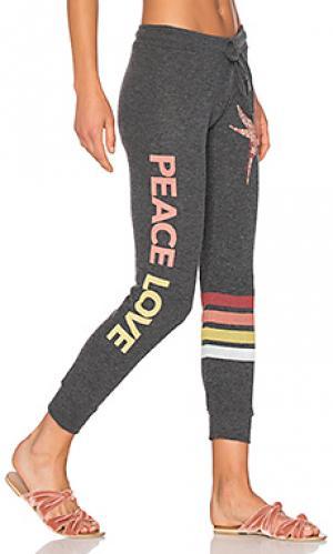 Классические спортивные брюки kizzy Lauren Moshi. Цвет: черный