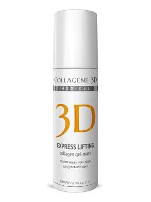 ГЕЛЬ ПРОФ Express Lifting 130 мл Medical Collagene 3D. Цвет: белый, оранжевый