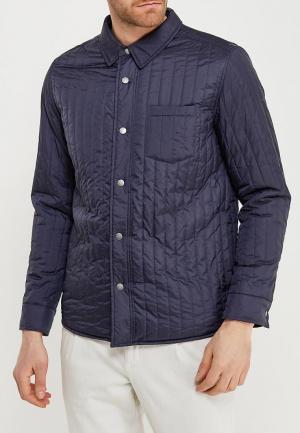 Куртка утепленная Selected Homme. Цвет: синий
