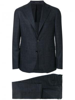 Классический пиджак Tagliatore. Цвет: синий