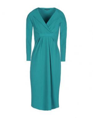 Платье до колена CHIARA BONI LA PETITE ROBE. Цвет: изумрудно-зеленый