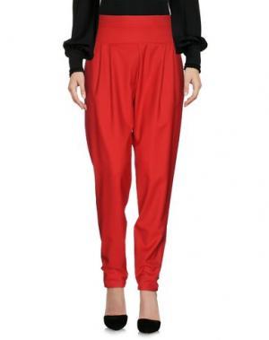 Повседневные брюки ALEXANDRE VAUTHIER. Цвет: красный