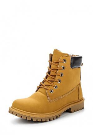 Ботинки TT. Цвет: коричневый